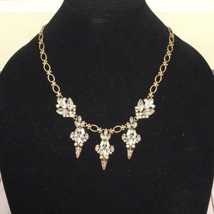 🥰Beautiful J. Crew Art Deco Statement Necklace